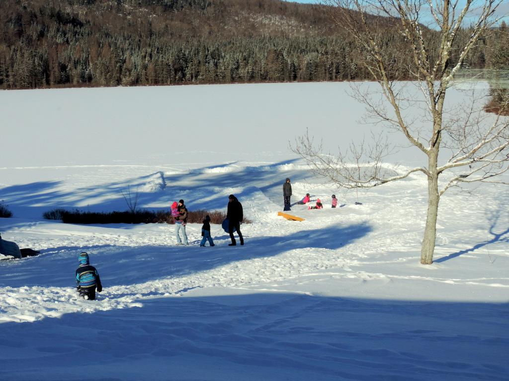 skating, sliding winter outdoor activities